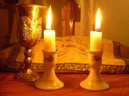 Traditional Shabbat Candles (not my picture)